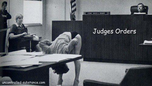 Judges Orders