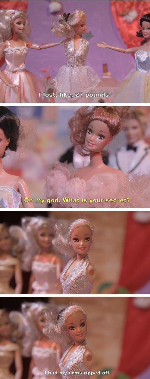Barbie Weight Loss Secret