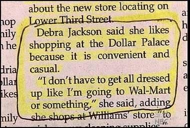 Formal Walmart Attire