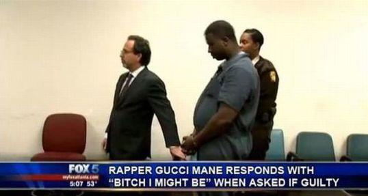 Rapper Gucci