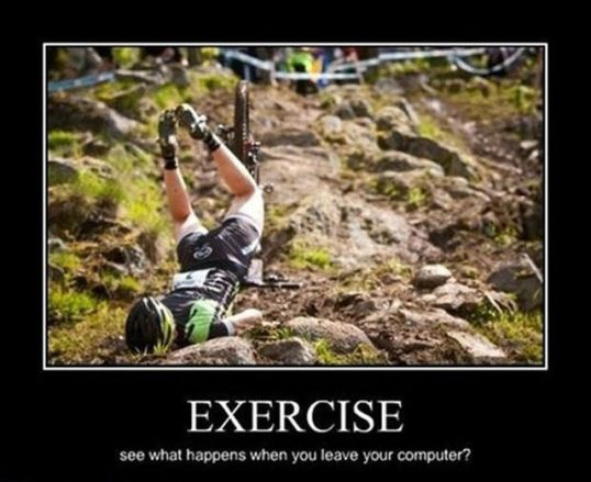 The Downfall of Excercise