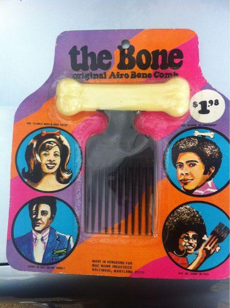 Afro Bone Comb