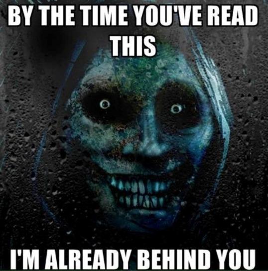 Already Behind You