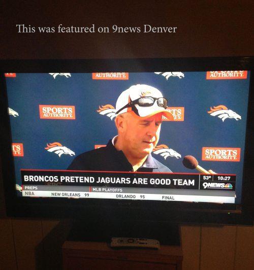 Broncos Pretend