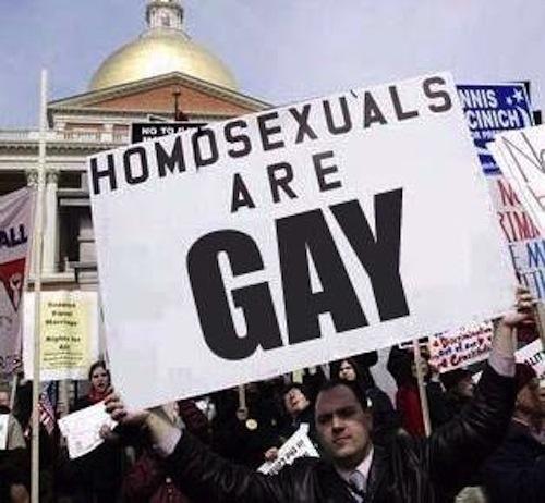 Homosexuals Are Gay