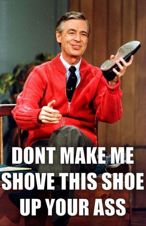 Mr Rogers Shoe