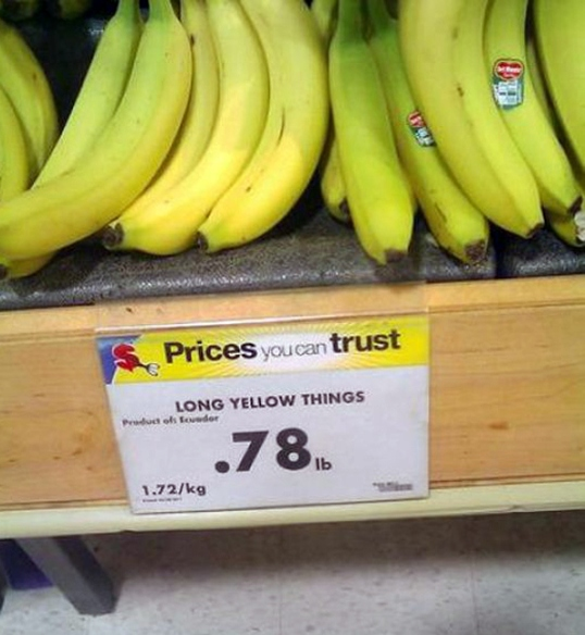 Long Yellow Things
