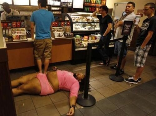 Starbucks Passout